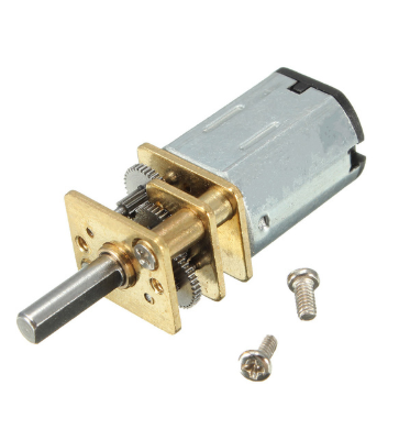 DC 6V/12V 50-300RPM Gear Motor Speed Reduction DC Motor Electric Gear Box  with Gearwheel